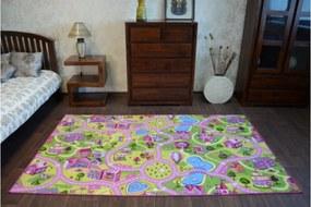 Covoras pentru copii- Oraselul dulce 150x200 cm