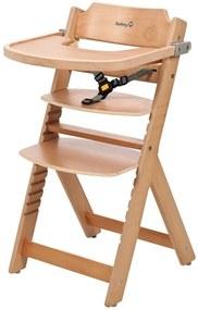 409225 Safety 1st Scaun înalt Timba din lemn natural, 27620100