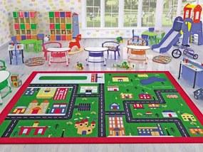 Covor pentru copii Town 133 x 190 cm