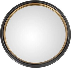Oglinda THOR cu Detaliu Auriu - Sticla Negru Lungime(50 cm) x latime( 50 cm) x Inaltime(5 cm)