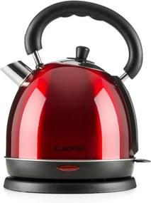 Klarstein Teatime ceainic 1850 - 2200W 1.8L rosu rubin, otel inoxidabil