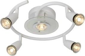 Lucide 13957/24/31 - Lampa spot LED BINGO-LED 5xGU10/5W/230V alba