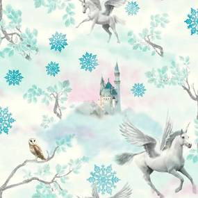 Tapet - Arthouse Fairytale Fairytale Ice Blue