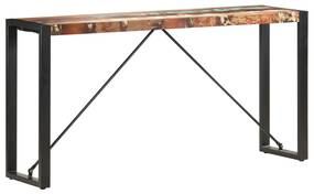 285949 vidaXL Masă consolă, 150 x 35 x 76 cm, lemn masiv reciclat