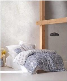 Lenjerie din bumbac pentru pat de o persoană Puresso Azuelo, 140 x 200 cm