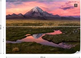 Fototapet GLIX - Sajama + adeziv GRATUIT Tapet nețesute - 254x184 cm