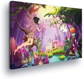 GLIX Tablou - Cartoon Animals III 100x75 cm