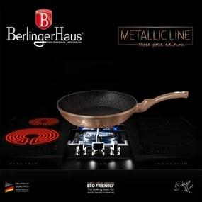 Tigaie 26 cm Rose Gold (Cupru) Metalic Line Berlinger Haus BH 1834N