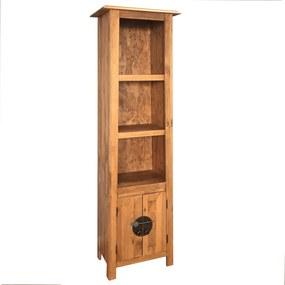 246036 vidaXL Dulap de baie, lemn masiv de pin reciclat 48x32x170 cm