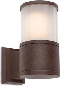 Stâlp pentru iluminat exterior Redo EXTER 650mm - ruginiu