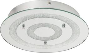 Rábalux 2482 Plafoniere cristal Dagmar crom metal LED 21W 1260lm 4000K IP20 A