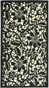 Covor Floral Draco, Alb, 60x110