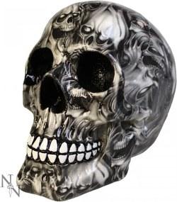 Statueta craniu Suflet 19 cm