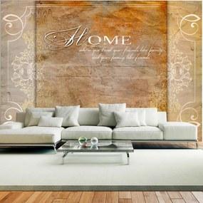 Bimago Fototapet - Home, where you treat your friends like family... 400x280 cm