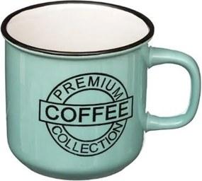 Cana Coffe Blue, ceramica, 420 ml, 9.5x9.5 cm