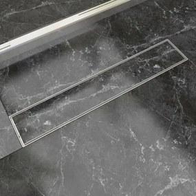 Scurgere duș liniară din oțel inoxidabil 630 x 140 mm