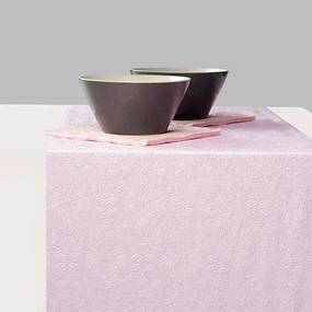 Runner Elegance Lilac din hartie 33x600 cm