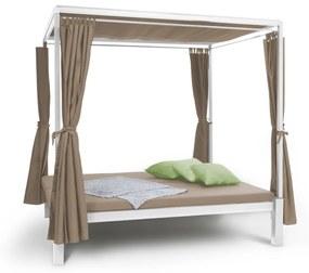 Senator Lounge, pat de grădină cu pergolă 188x208x205cm maro