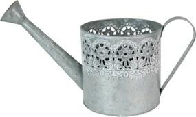 Deco stropitoare din metal argintiu 16 cm