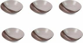Set 6 farfurii din ceramică pentru supă Villa d'Este