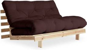 Canapea extensibilă Karup Design Roots Raw/Brown