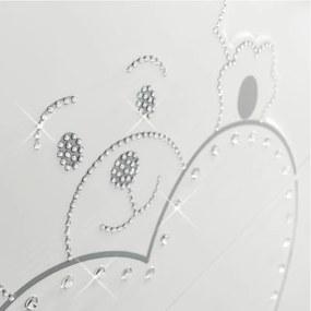 Dulap bebe Lulu cu 2 usi si sertar Design Italian Alb, Erbesi, Italia