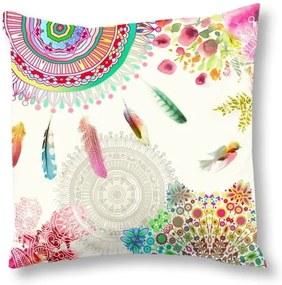 Lenjerie de pat din bumbac satinat Palaya Rainbow, 240 x 200 cm