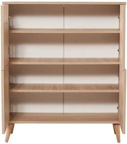 Dulap din lemn Ananias Cage, înălțime 111 cm