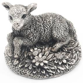 Decoratiune miel Portelan Argint