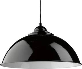 Pendul metalic design modern Fusion negru