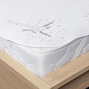 Protecție saltea 4Home Lavender cu elastic, 160 x 200 cm, 160 x 200 cm