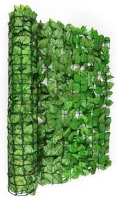 Blumfeldt Fancy întuneric iedera parbriz300 x 150 cm 2700 frunze de culoare verdedeschis