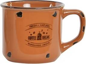 Cana Orange din ceramica 7 cm