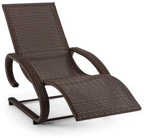 Daybreak, leagăn pentru relaxare, salon tip consolă maro, aluminiu, polyatan