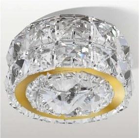 Azzardo AZ2467 - Lampă încastrată de cristal ESTER 1xGU10/50W/230V
