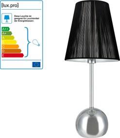 [lux.pro]® Lampa eleganta de masa – veioza - Vera / 1 x E14