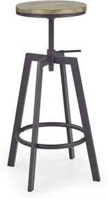 Scaun bar H-64 - H 63-80 cm