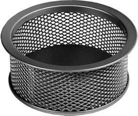 Suport pentru agrafe birou metalic mesh Forpus 30542 negru