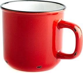 Cană din ceramică Dakls, 440 ml, roșu