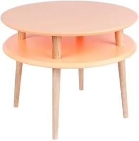 Măsuță de cafea Ragaba UFO Ø 57 cm, portocaliu