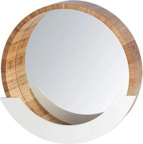 Oglindă de perete FINJA cu raft, 35 cm, WENKO