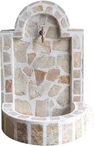 Cismea mica - placata cu piatra poligonala Rhodos (80 x 55cm, 70kg)