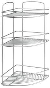 Etajeră de colț cu 3 rafturi Metaltex