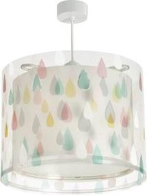 Dalber Color Rain 41432 Pendule pentru copii alb transparent 1 x E27 max. 60W 25 x 33 x 33 cm