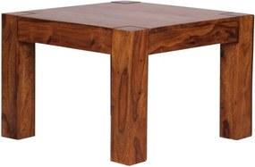 Masă cafea din lemn masiv de palisandru Skyport Celina