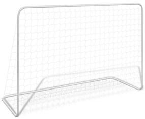 Poartă de fotbal din oțel, 182 x 61 x 122 cm