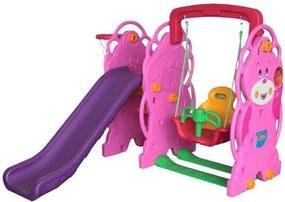 Million Baby - Centru de joaca 3 in 1 Ursulet, Multicolor