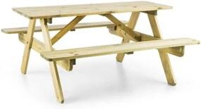 Blumfeldt PICKNICKERCHEN, masă de joacă pentru copii, lemn de pin
