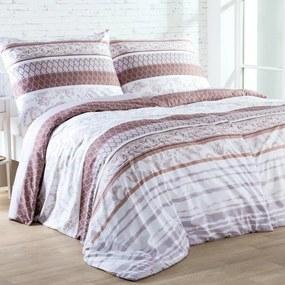 Lenjerie de pat din microfibră SERENA pat simplu