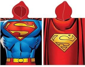 Poncho copii Superman, 50 x 100 cm